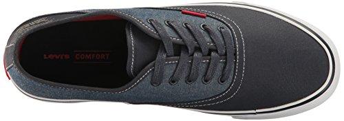 Levis Menns Monterey Chambray Kjerne Mote Sneaker Navy