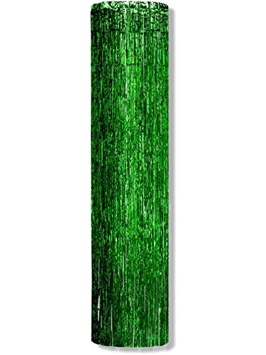 Green Gleam Burst Tinsel Wall Ceiling Hangers Danglers Decoration