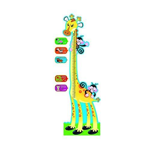 Trend Enterprises Giraffe Growth Chart Bulletin Board Set (T-8176) by Trend Enterprises