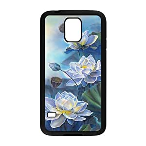 Lotus ZLB818681 Custom Phone Case for SamSung Galaxy S5 I9600, SamSung Galaxy S5 I9600 Case
