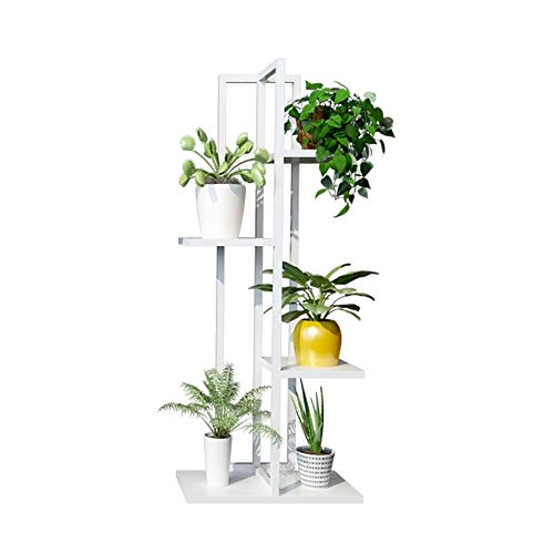 Iron Multi-layer Floor-standing Flower Stand Simple and Stylish and Elegant Dining Room Bedroom Bathroom Garden Office Balcony