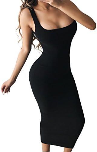 BEAGIMEG Womens Bodycon Sleeveless Casual product image