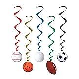 Sports Whirls (5/Pkg) (3-pack)
