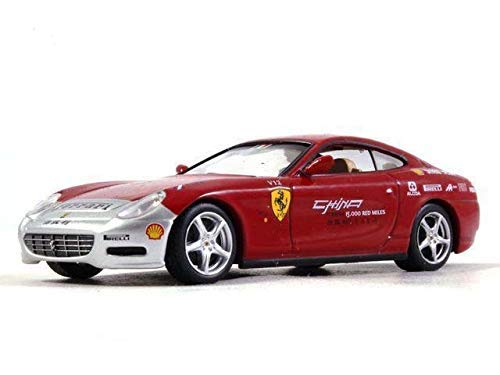 Ferrari 612 Scaglietti China Tour 1:43 Scale Diecast Model Sports Car 2005 Year