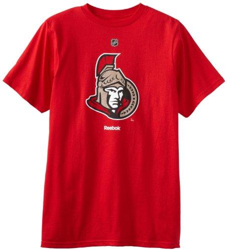 (NHL Ottawa Senators Primary Logo T-Shirt, X-Large,Red)