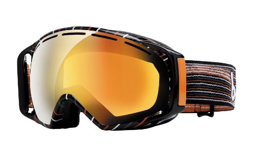 - Bolle Gravity Goggles, Grey and Orange Waves, Aurora Lens