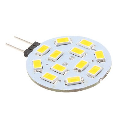 LEDCJW Bombillas led,,10 PC, 2W G4 LED Bi-pin luces 12 SMD 5630 220 lm blanco cálido DC 12 V: Amazon.es: Iluminación