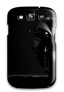 Ultra Slim Fit Hard Ortiz Bland Case Cover Specially Made For Galaxy S3- Yamaha Yzf R1 Anime