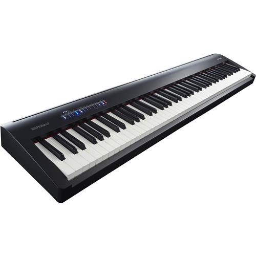 Roland 88-Note Digital Piano with Stand and Pedalboard, Black (FP-30-BKC)