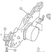 40X0107 -N Lexmark Gear Box With Motor (T640, T640N, T642N, T644, T644DTN T644N X646EF MFP)