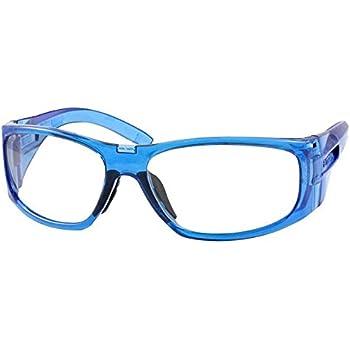 b70b1ba0d7 Amazon.com  ArmouRx 6001 Prescription Safety Eyewear Frame blue ...