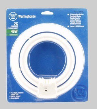 Westinghouse Lighting Corp 40-watt 2C Fluorescent Circular Lamp (2)