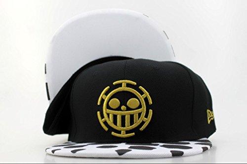 Unisex One Piece Law Hats Snapback Hiphop Cartoon Baseball Caps (4#)