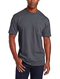 Men's Short Sleeve Heavyweight Crew Neck Pocket Tee