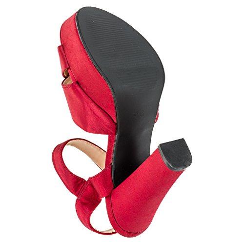 Schuhe W M364rt Top Damen S High Rot Awq51vw