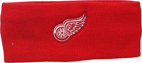 Detroit Red Wings Headband Knit Small Logo Block 12604 -