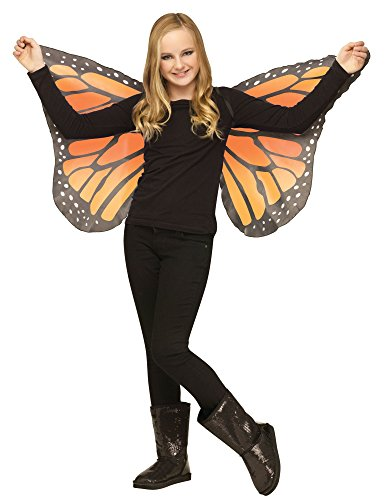 Morris Costumes Wings Butterfly Soft Child Ora (Monarch Butterfly Costume)