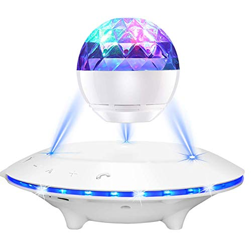 NOOYC Levitate Speaker Bluetooth, LED Light Floating Magnetic Levitation Nightlight Microphone Giving Your a More…