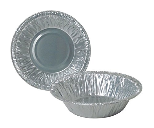 Durable Packaging Disposable Aluminum Round Tart Pan, 5 inch (Pack of 1000)