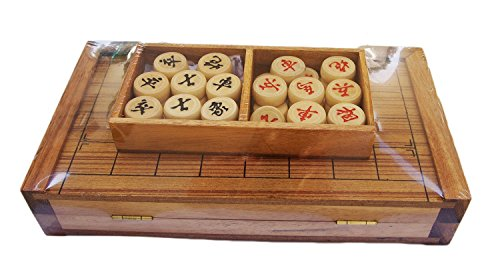 CMStar Portable Wooden Chinese Chess Game Set -