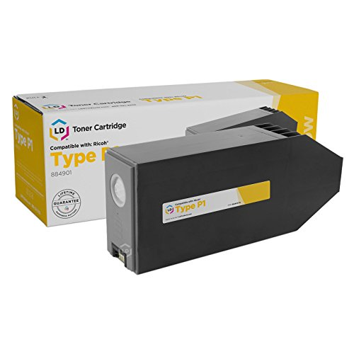 LD Compatible Toner Cartridge Replacement for Ricoh 884901 Type P1 (Yellow) ()