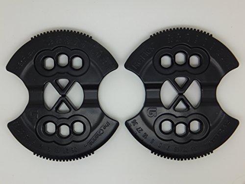 Burton New Snowboard Re-Flex ICS Hole Binding Mounting Disc's Disk's -