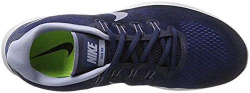 2f5d0cb2324c Nike Free RN 2017 Binary Blue Dark Sky Blue Obsidian Men s Running Shoes  Size