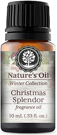 Christmas Splendor Fragrance Oil 10ml for Diffuser, Making Soap, Candles, Lotion, Home Scents, Linen Spray and Lotion
