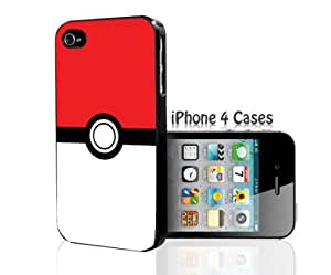 Pokemon Ball Iphone 4 4s Hard Case Cover Rare