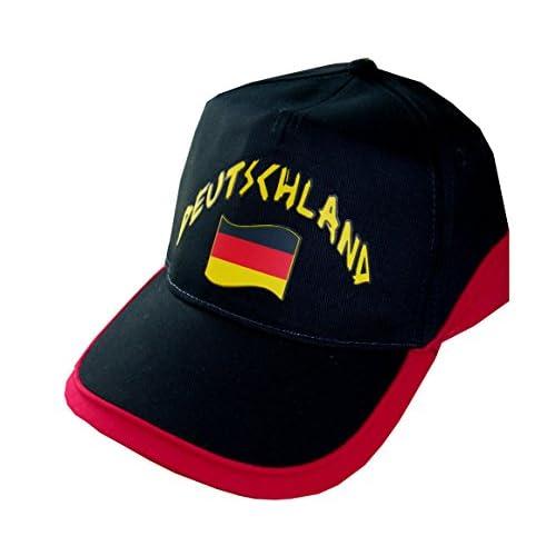 brand new 2240d 832e4 Supportershop Allemagne Drapeau de Nation avec 2 Œillets Métalliques Homme