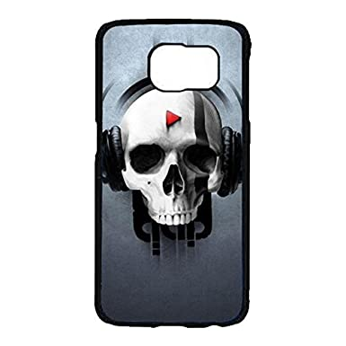 Samsung Galaxy S7 Coverwonderful Nice Skull Wallpaper Phone Case
