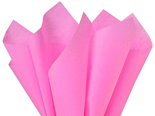 Fuchsia Tissue Paper 20x26'' 480 Sheet Ream (2 Reams) - WRAPS-CT2FU by Miller Supply Inc