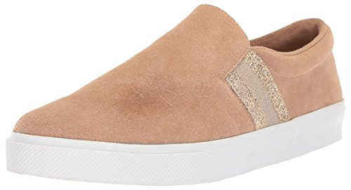 KAANAS Women's Santa Fe Fashion Slip-on Casual Sneaker Skate Shoe, Sand, 9 M US by KAANAS