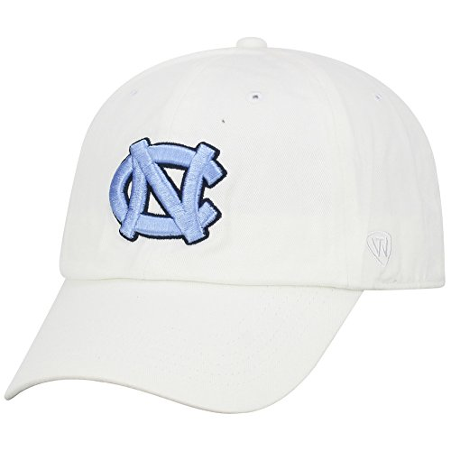 Top of the World North Carolina Tar Heels Men's Hat Icon, White, Adjustable ()