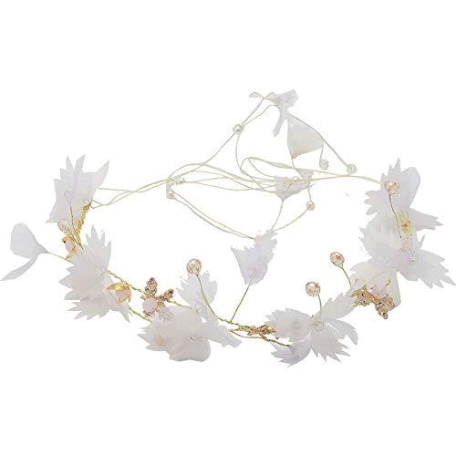 (Bridal hair accessories Bridal tiara Sen Xianmei new headband Korean wedding wedding wedding shadow real estate hair styling jewelry)