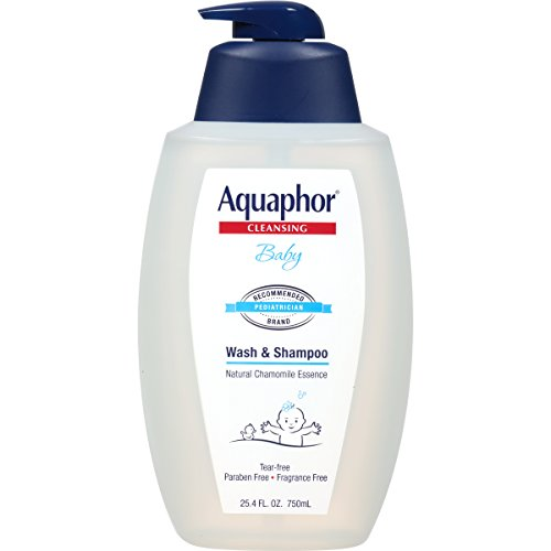 Aquaphor Baby Wash and Shampoo - Mild, Tear-free 2-in-1 Solution for Baby