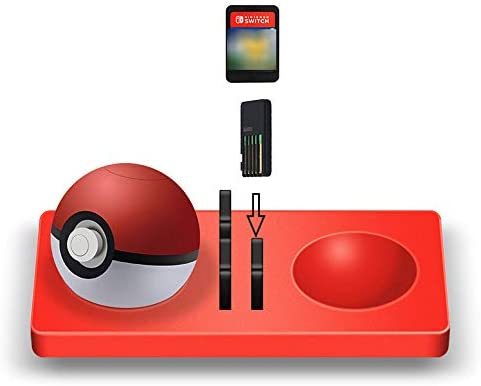 Almohadilla de Silicona para Nintendo Switch Game Cards + Poke Ball Plus Pokemon Lets Go Pikachu Eevee Game: Amazon.es: Hogar