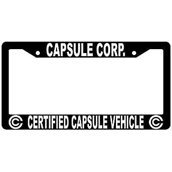 Amazon.com: First Rober Capsule Corp - Marco de matrícula de ...