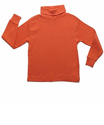 c0390001296 Leveret Girls Boys   Toddler Solid Turtleneck 100% Cotton Kids Shirt (2  Toddler-