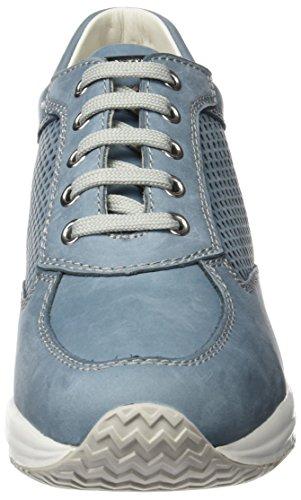 D Basses Happy Bleu Denimc4008 Sneakers Geox Femme A BFUnWIdWfq