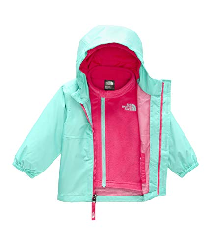 - The North Face Kids Unisex Stormy Rain Triclimate (Infant) Mint Blue 12-18 Months