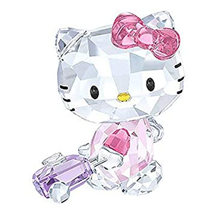 bc1dd17b1 Amazon.com: Swarovski Hello Kitty Traveller Figurine: Home & Kitchen