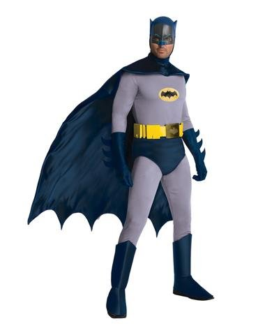 Rubies Costume Co Men's Classic Batman 1960's Tv Costume