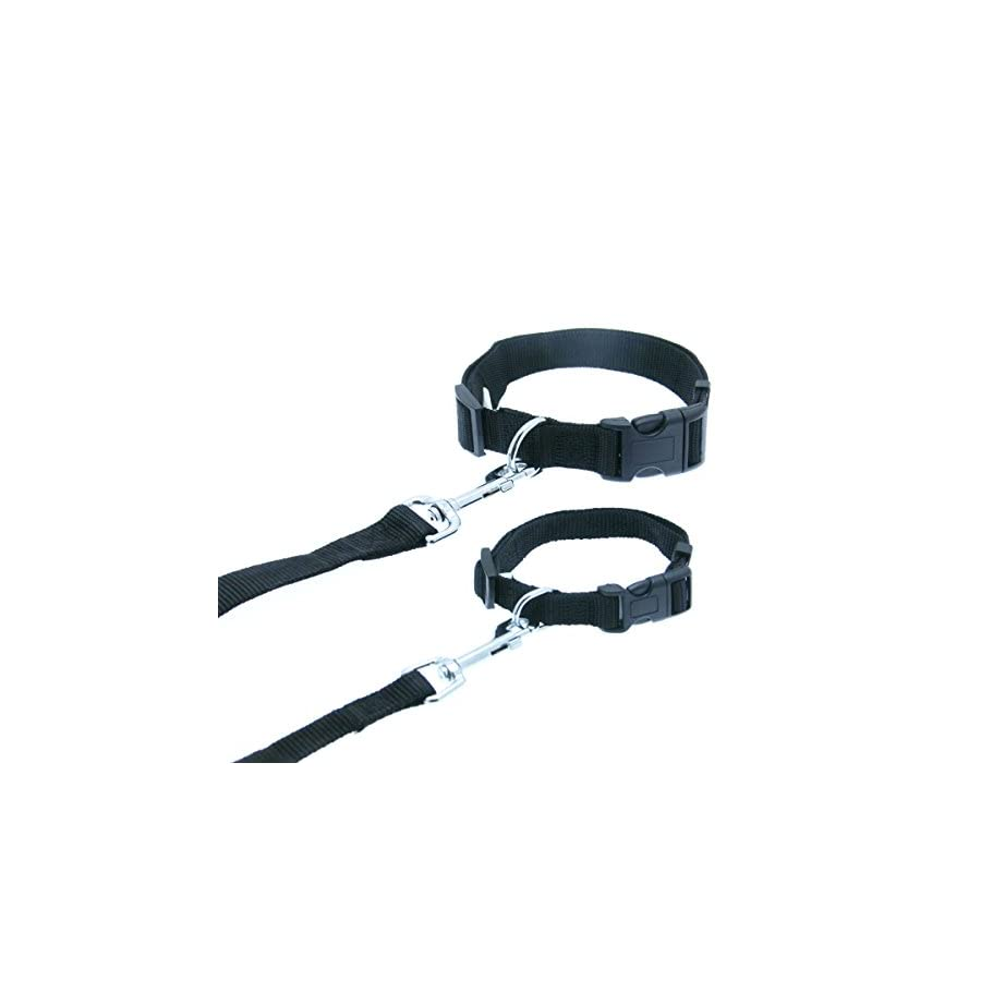 "Barking Basics Dog Leash Black 5/8"" x 4' Length"