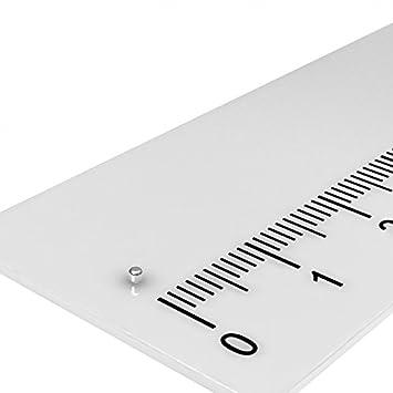 POWER MAGNET N45 4x1 mm PINNWAND MODELLBAU 20x MINI NEODYM MAGNET SCHEIBE