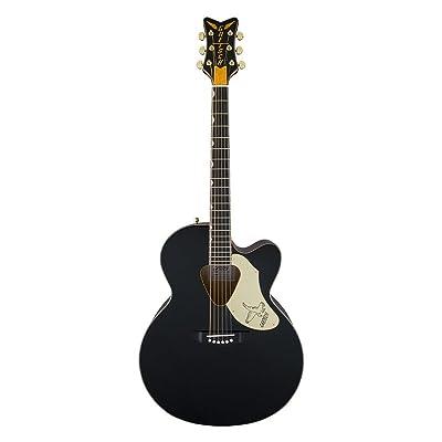 Gretsch Guitars G5022C Rancher Falcon Cutaway Acoustic-Electric Guitar Black: Musical Instruments