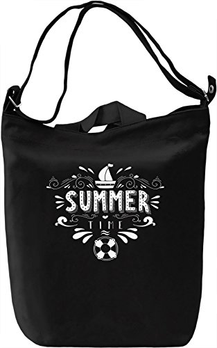 Summertime Borsa Giornaliera Canvas Canvas Day Bag| 100% Premium Cotton Canvas| DTG Printing|