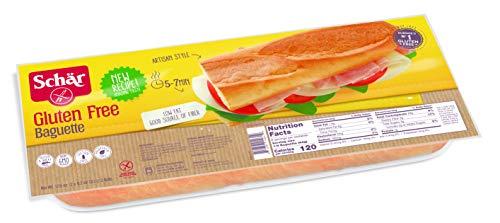 Free French Gluten Bread (Schär Gluten Free Baguette, 2-Count, 6-Pack)