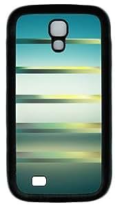 Light Blue Shelves Custom Designer Samsung Galaxy S4 Case and Cover - TPU - Black