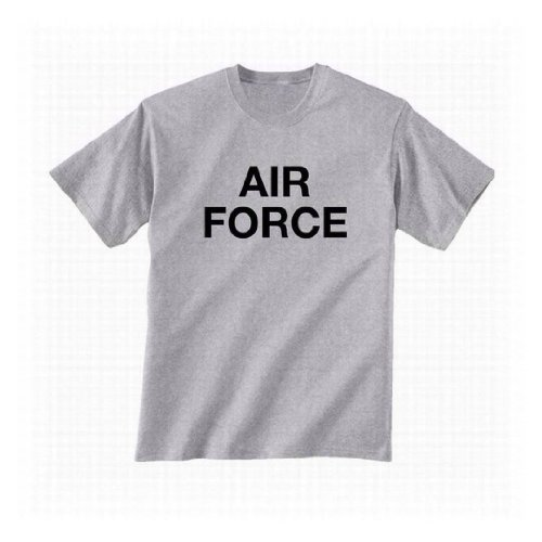 - ZeroGravitee Vintage Air Force Short Sleeve T-Shirt in gray - XX-Large